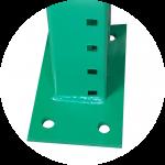 irvine pallet racks base plate