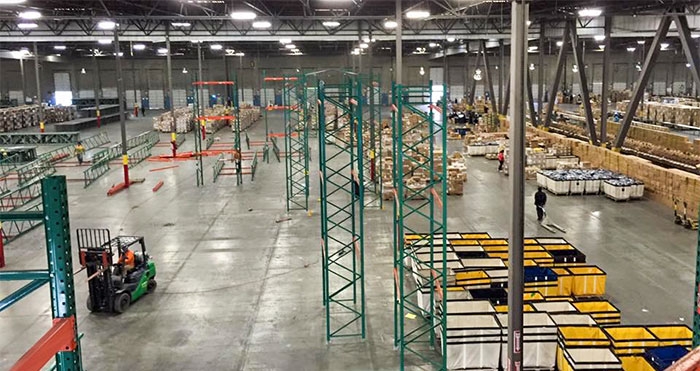 irvine pallet racking warehouse services